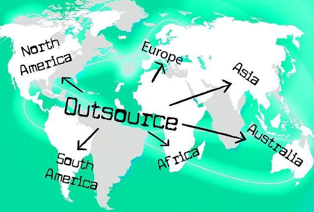outsource til udlandet
